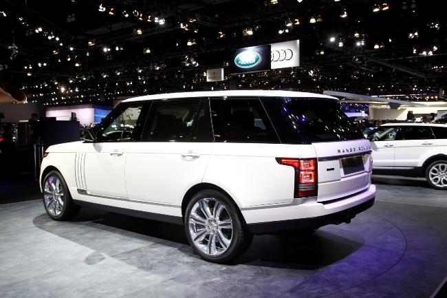 Автосалон в Лос-Анджелесе 2013: удлиненный Range Rover