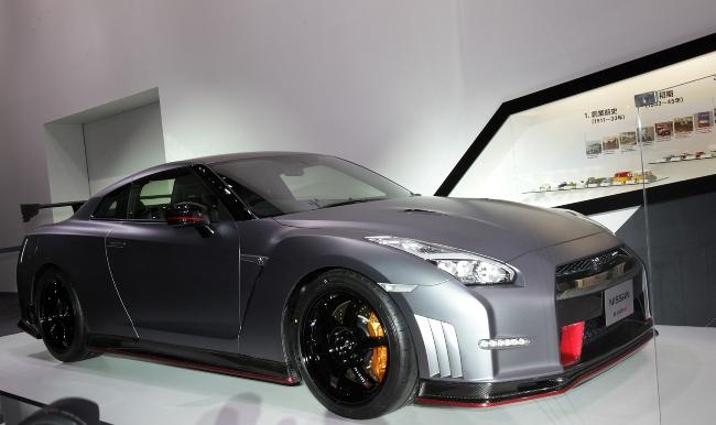 Токийский автосалон 2013: новый Nissan GT-R Nismo