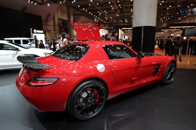 Токийский автосалон 2013: Mercedes SLS AMG GT Final Edition