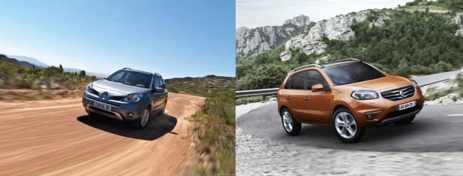 народный тест Renault Koleos