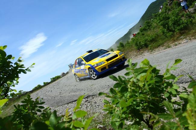 Prime Yalta Rally 2011. Авария экапиажа Николая Соболева,Татьяны Кравцовой