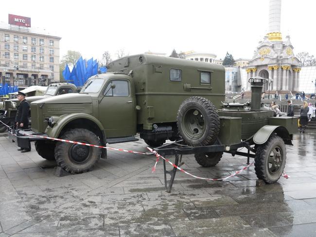 Выставка военной техники в Киеве: ГАЗ-63