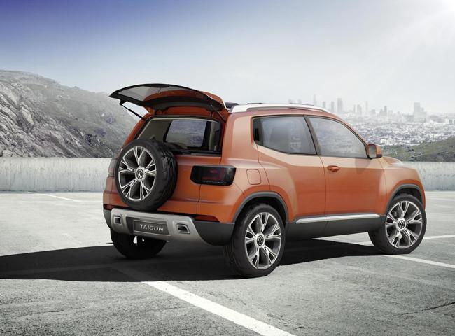 Обновленный Volkswagen Taigun