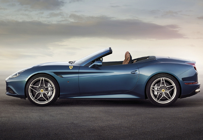 Новая Ferrari California T