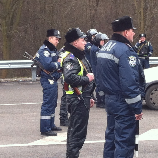Все дороги на Киев перекрыты