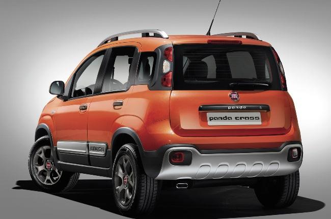 Новый Fiat Panda Cross