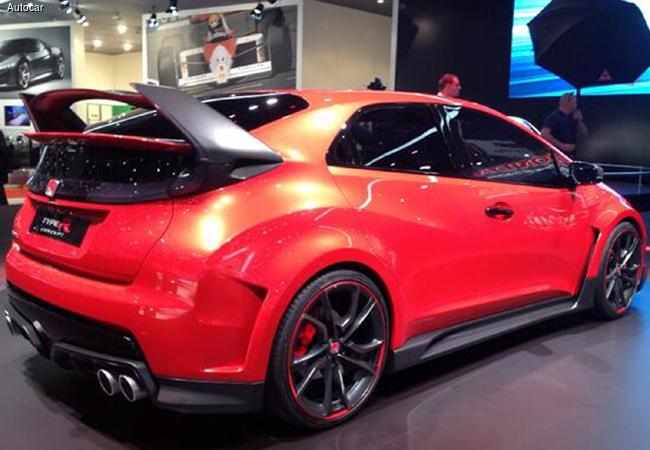 Автосалон в Женеве 2014: новый Honda Civic Type-R