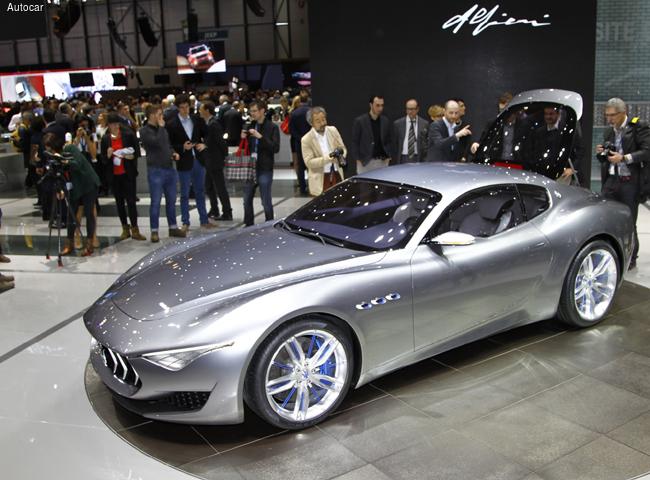 Женевский автосалон 2014: новый Maserati Alfieri