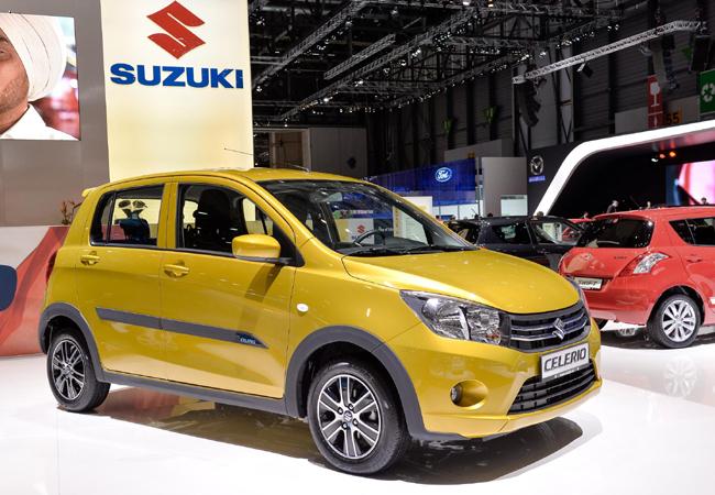 Женевский автосалон 2014: новый Suzuki Celerio