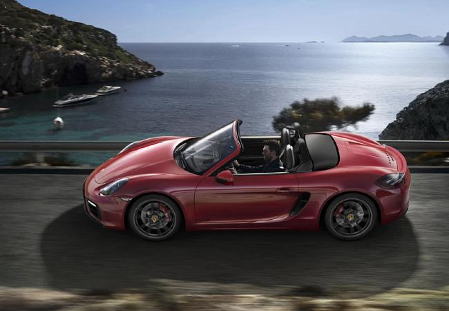Обновленные Porsche Boxster GTS и Cayman GTS