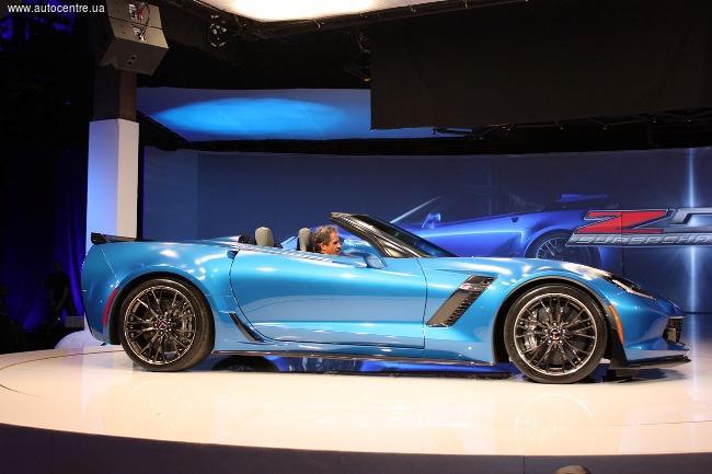 Нью-Йоркский автосалон 2014: Chevrolet Corvette