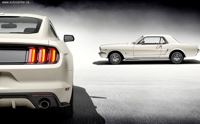 Mustang празднует 50-летие