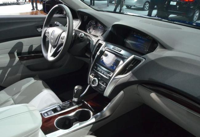 Нью-Йоркский автосалон 2014: Acura TLX