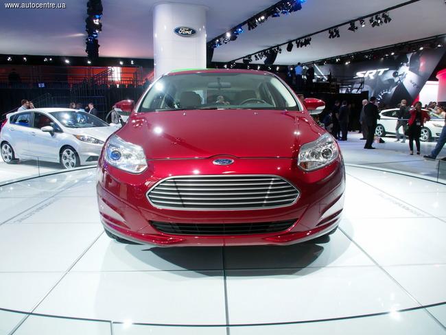 Нью-Йоркский автосалон 2014: электрический Ford Focus