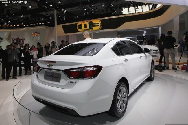 Пекинский автосалон 2014: Chevrolet Cruze
