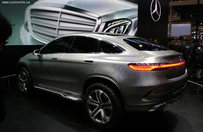 Пекинский автосалон 2014: Mercedes создает конкурента BMW X6