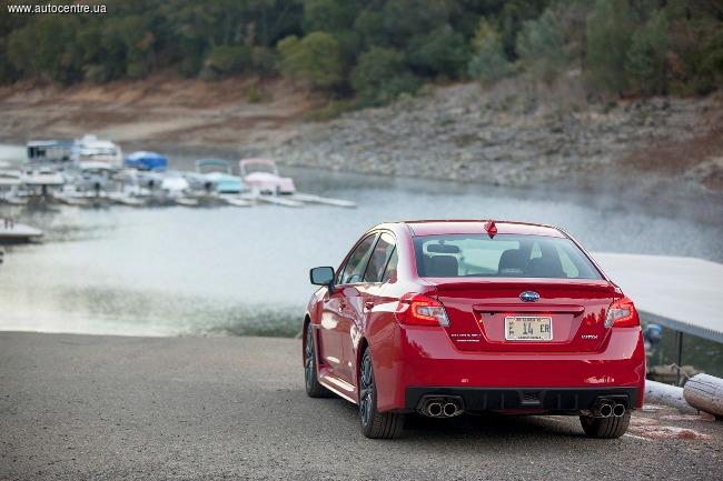 Subaru WRX и WRX STI останутся седанами