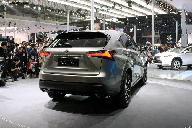 Пекинский автосалон 2014: Lexus NX
