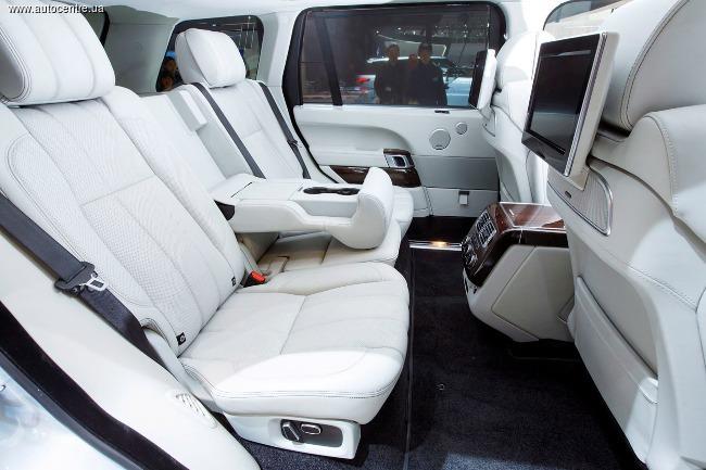 Даешь удлиненный гибрид Range Rover!