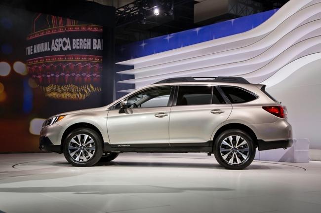 Subaru Outback не меняет курса?