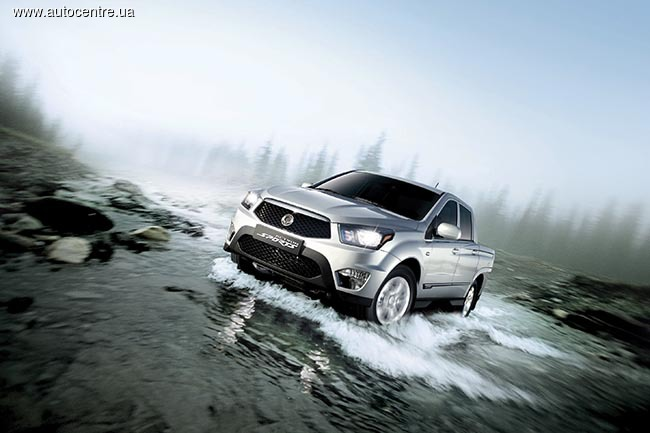 SsangYong New Actyon Sports
