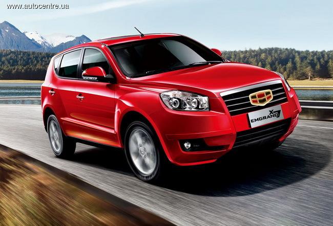 В Украине реализовано 65000 автомобилей Geely