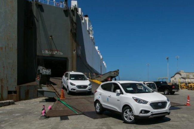Водородные Hyundai Tucson появляются на дорогах