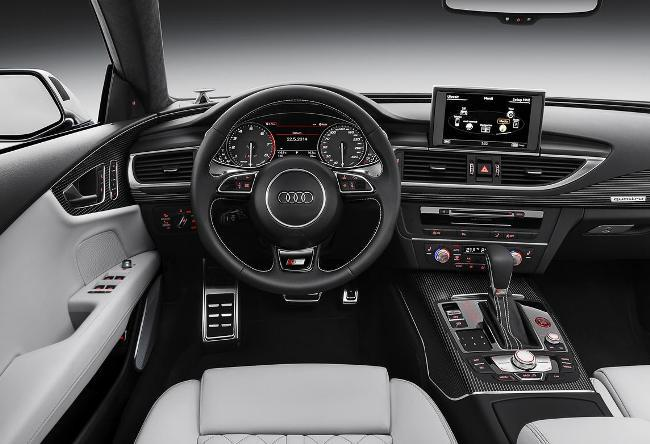 Audi A7 получила более злой взгляд