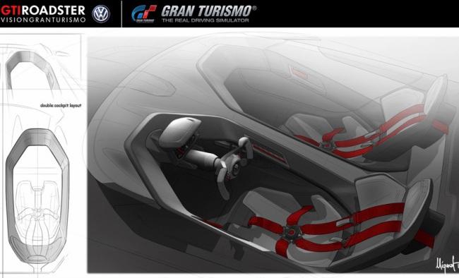 Volkswagen представил концептуальный родстер