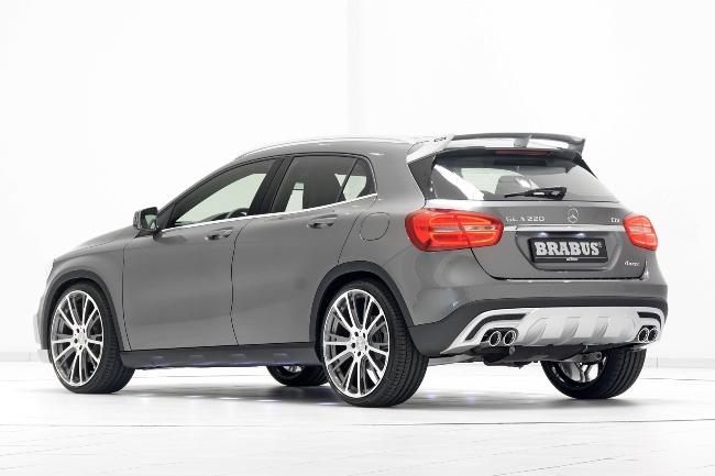Brabus подружился с Mercedes GLA