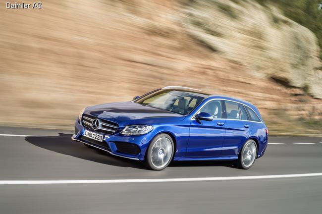 Mercedes-Benz C-Class обзавелся новеньким универсалом