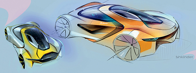 Суперкары McLaren по-украински