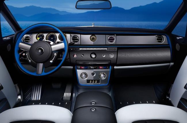 Rolls-Royce представил «водное» издание Phantom Drophead Coupе