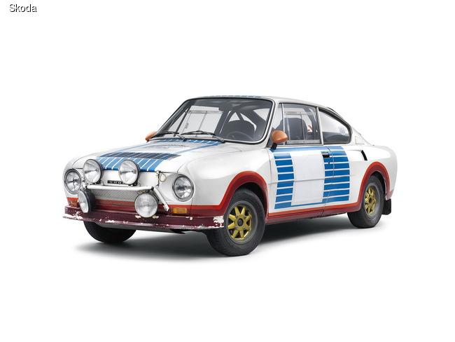 Skoda 130 RS – победитель Ралли Монте-Карло 1977 года