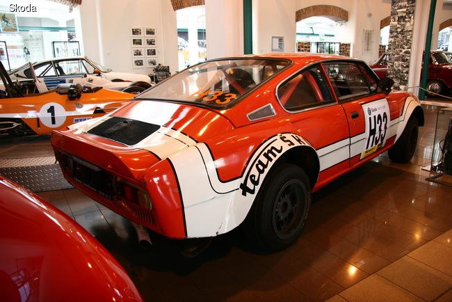 Прототип Skoda 200 RS в заводском музее компании