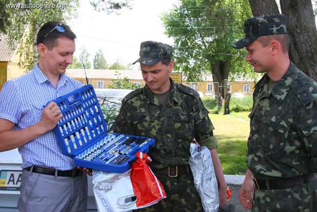 Помогаем армии: Практические занятия