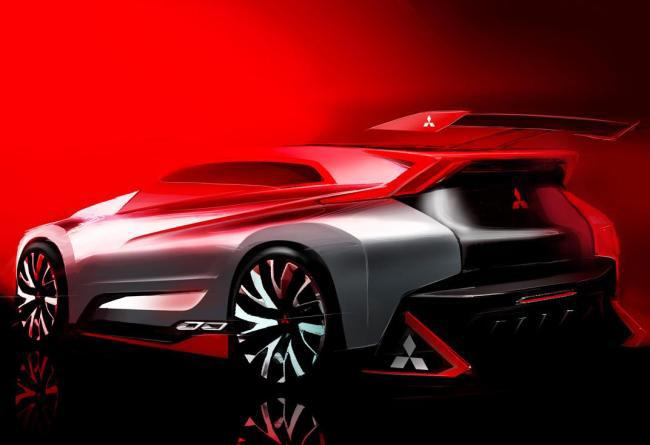 Концепт Mitsubishi XR Evolution засветился в игре