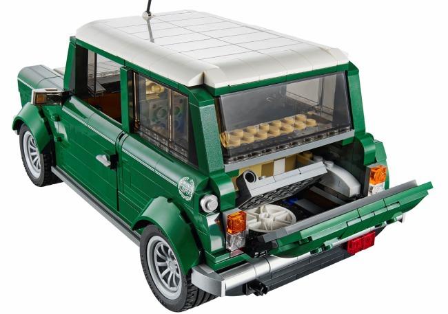 Собери классический Mini из Lego