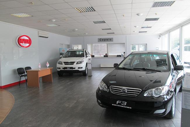 Новый дилерский центр BYD «ЮМАС-Авто»