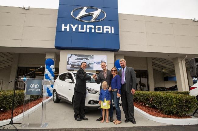 Первый водородный Hyundai Tucson выехал на дорогу