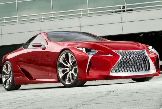 Lexus возродит спортивное имя модели SC