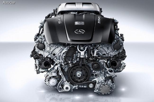 Новый суперкар от Mercedes раскрыл свое сердце