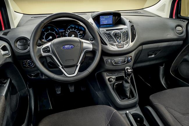 Тест-драйв Ford Tourneo Couirier
