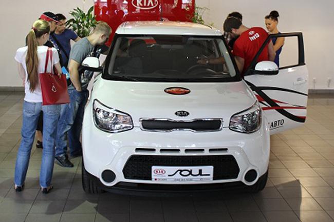 Презентация, автопробег и тест-драйв нового Kia Soul