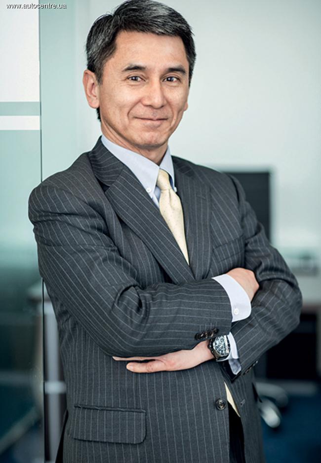 Президент «Хонда Украина» Таку Касахара