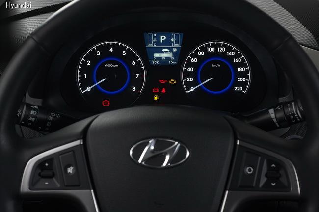 Hyundai Solaris подвергся модернизации