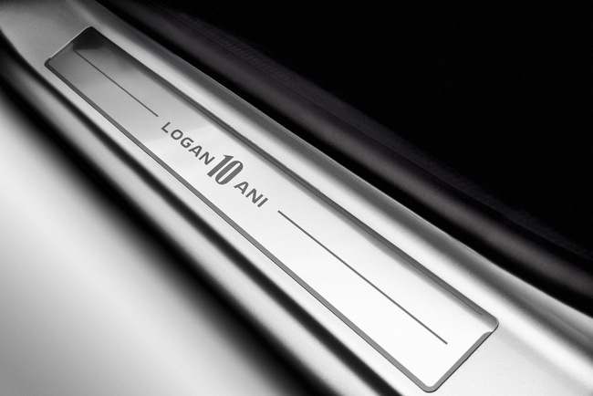 Седан Renault Logan получил юбилейную лимитированную версию