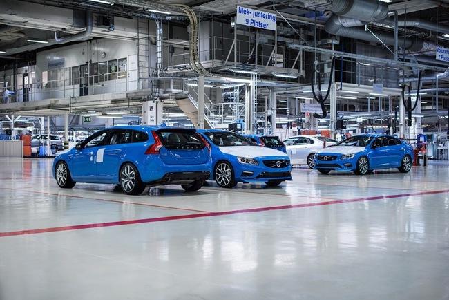Volvo запускает в серию высокопроизводительные S60 и V60 Polestar