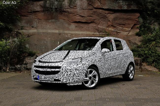 Новое поколение Opel Corsa появится на рынке в конце года