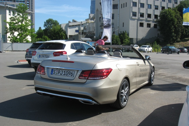 Mercedes организовал «звездный» мастер-класс